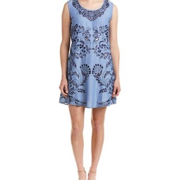Anthropologie Dresses & Skirts - KAS New York Anthropologie Shift Dress Cutout Sm